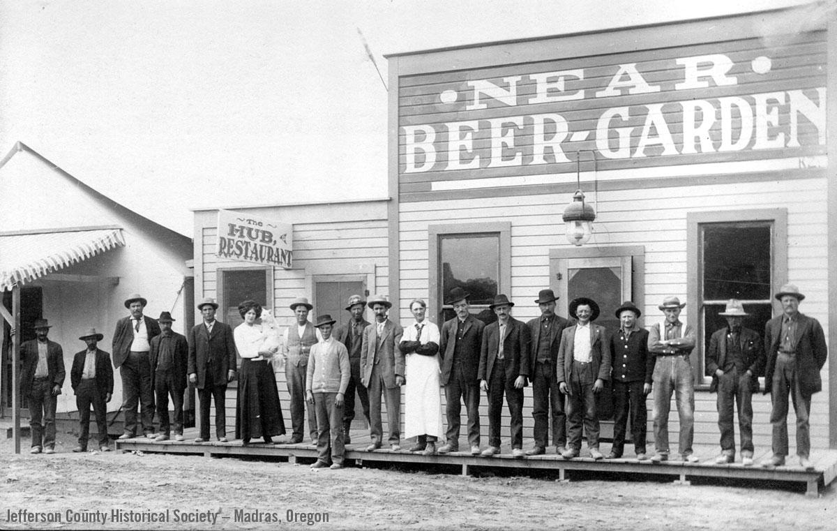 Near Beer Garden, Jefferson County, Oregon